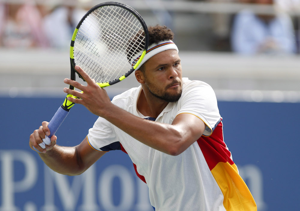 Jo Wilfried Tsonga, US Open 2017, Flushing Meadows, New York