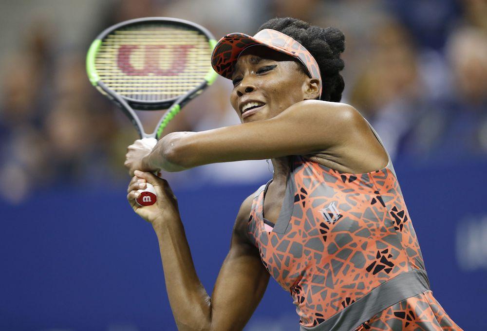 Venus Williams US Open 2017, Flushing Meadows, New York