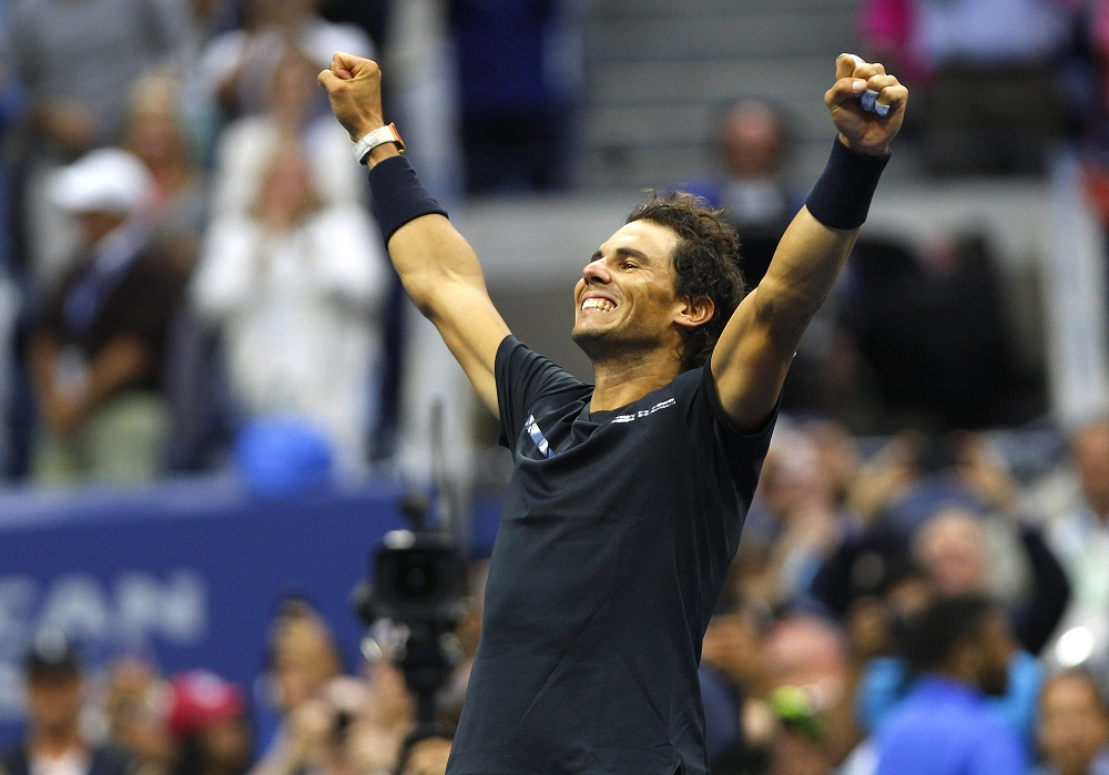Rafael Nadal, US Open 2017 champion, Flushing Meadows, New York