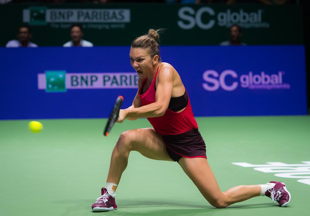 Simona Halep | WTA Finals, Singapore 2017