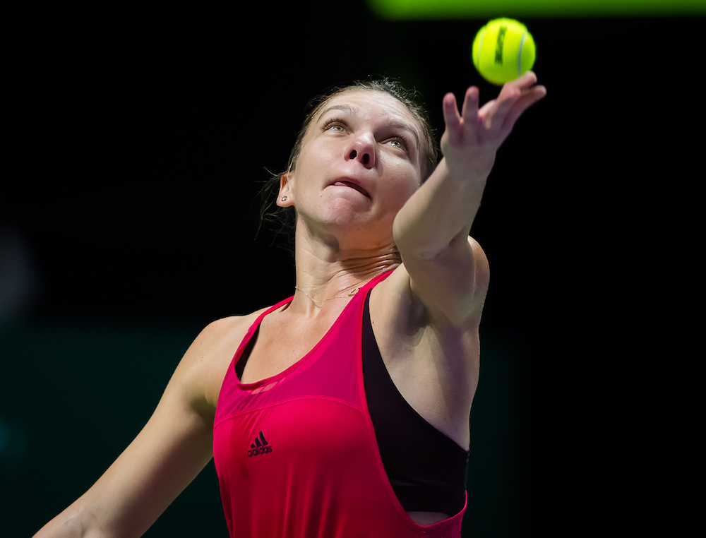 Simona Halep | WTA Finals 2017, Singapore