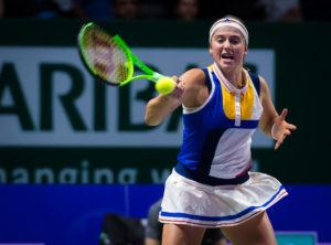 Jelena Ostapenko, WTA Finals Singapore, 2017