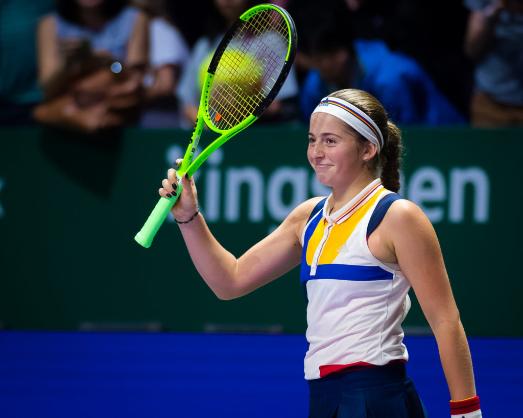 Jelena Ostapenko | WTA Finals 2017, Singapore