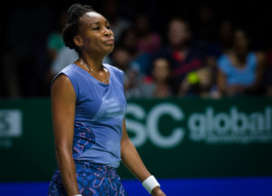Venus Williams at the WTA Finals, Singapore 2017