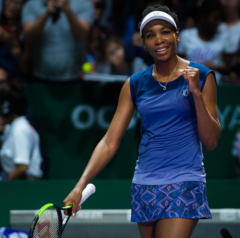 Venus Williams | WTA Finals 2017 Semi-final, Singapore