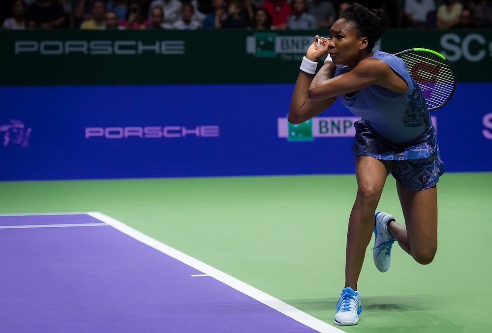 Venus Williams, WTA Finals Singapore 2017