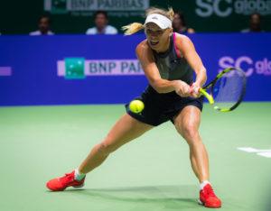 Caroline Wozniacki, WTA Finals 2017, Singapore