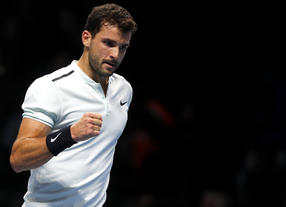 Grigor Dimitrov (Nitto ATP World Tour Finals, London 2017)