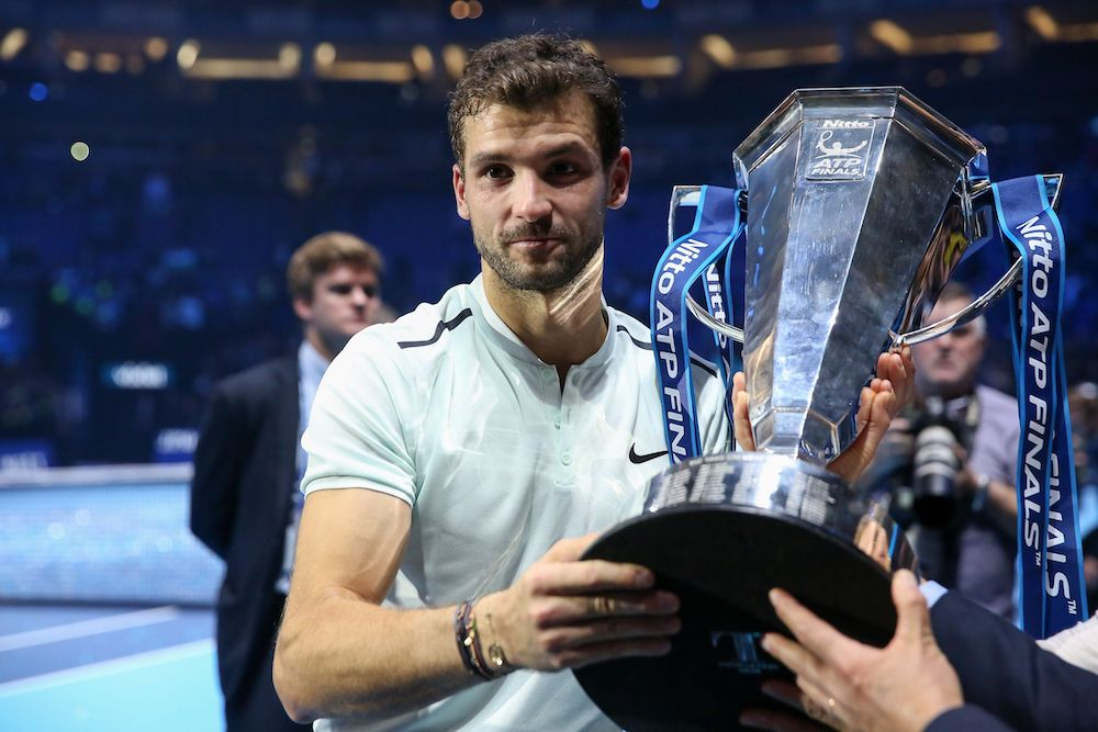 Grigor Dimitrov - Champion at the 2017 Nitto ATP Finals, London