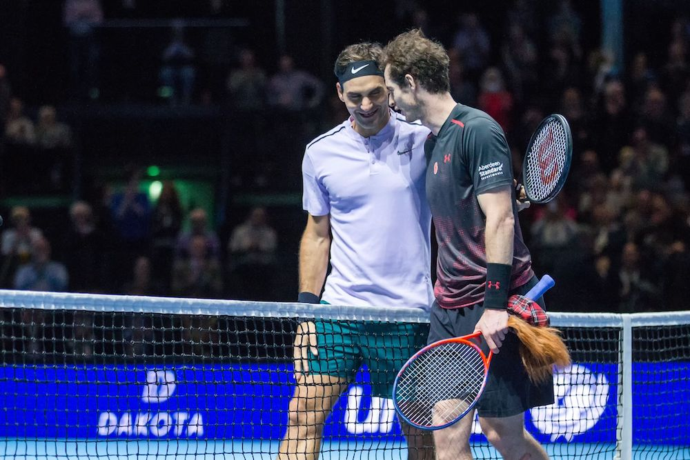 Roger Federer & Andy Murray, Andy Murray Live 2017, Glasgow