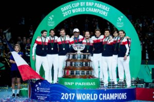 France win the Davis Cup final, 2017