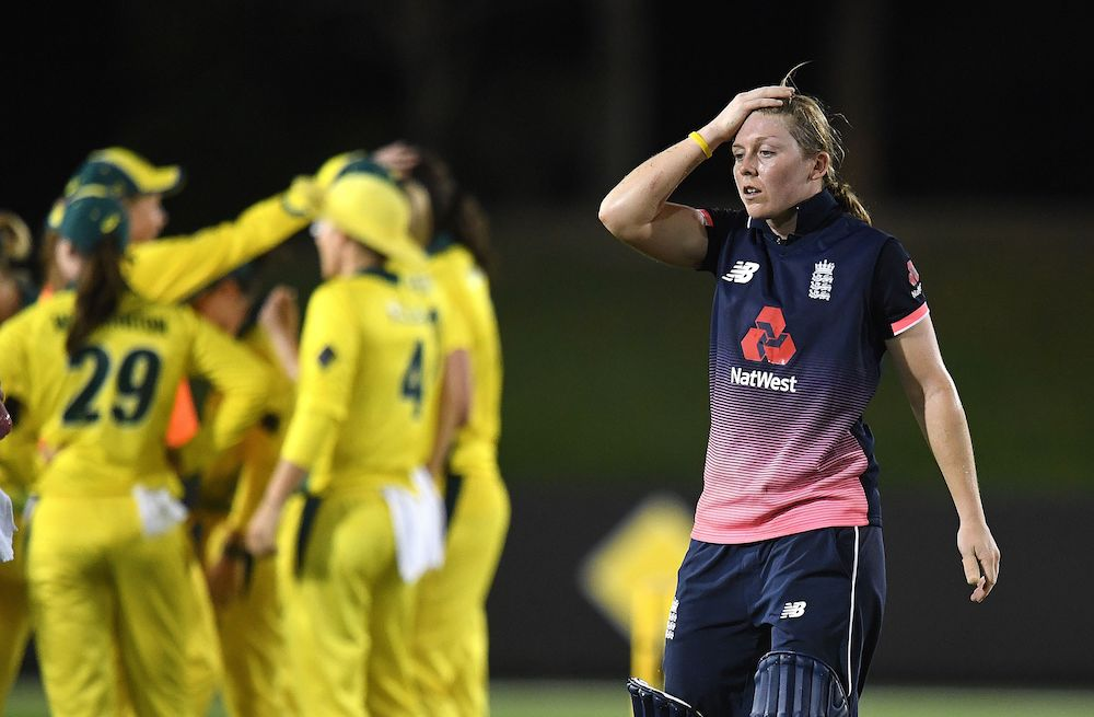 England captain Heather Knight, Women's Ashes, 2017