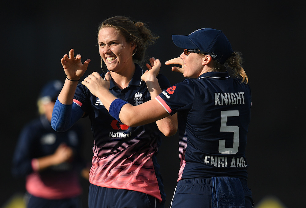 Natalie Sciver and Heather Knight. Womens Ashes 2017