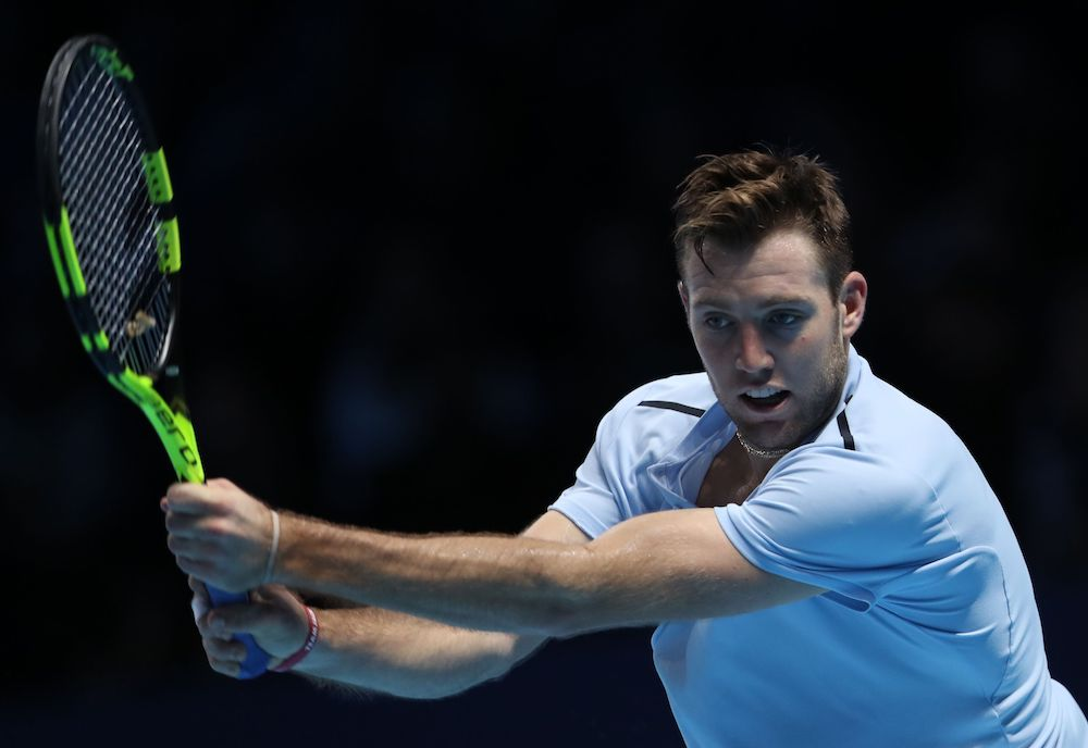 Jack Sock, Nitto ATP Finals 2017, Day One