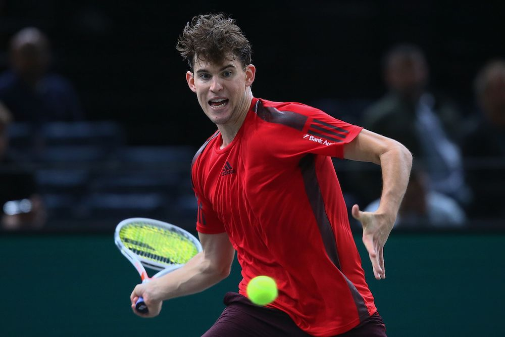 Dominic Thiem, Paris Masters 2017