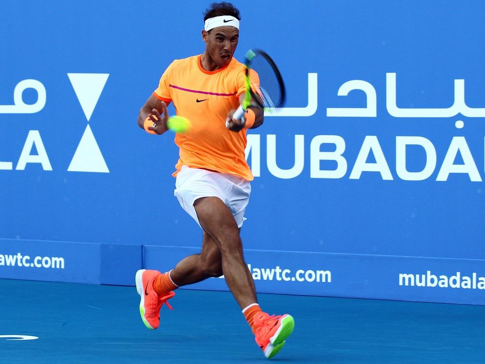 Rafael Nadal Mubadala World Tennis Championship 2016, Abu Dhabi