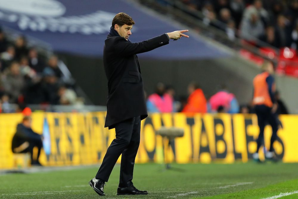 Manager of Tottenham Hotspur, Mauricio Pochettino, Premier League 2017