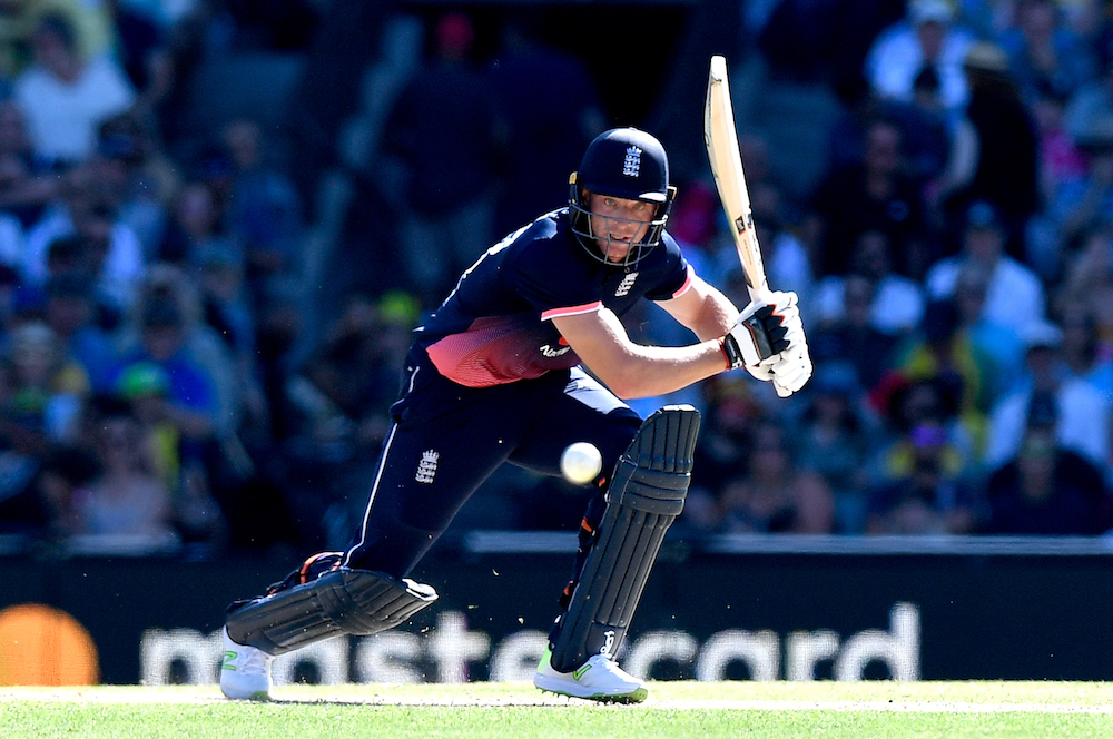 Jos Buttler in the third One Day International against Australia, 2018