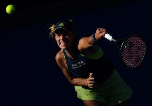 Angelique Kerber in the semi-final of the Australian Open, 2018
