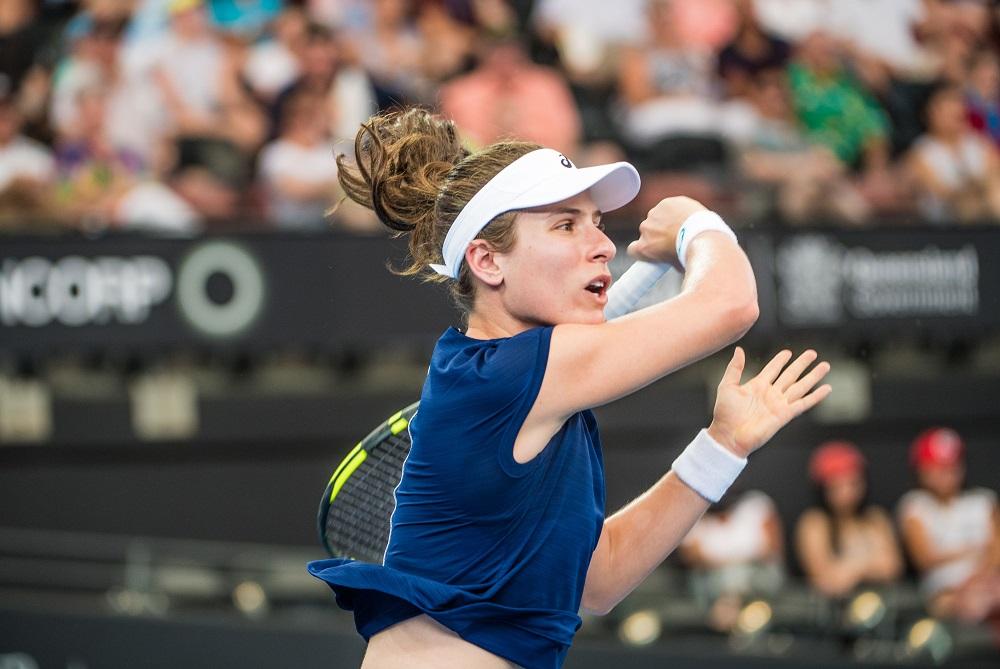 ohanna Konta, R1 WTA Brisbane, 2018