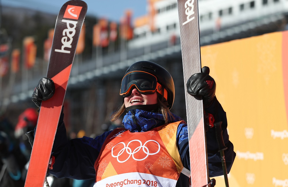 Isabel Atkin, GB Slopestyle Bronze Winter Olympics PyeongChang 2018