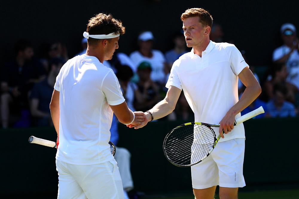 Scott Clayton & Jonny O'Mara at Wimbledon, 2017