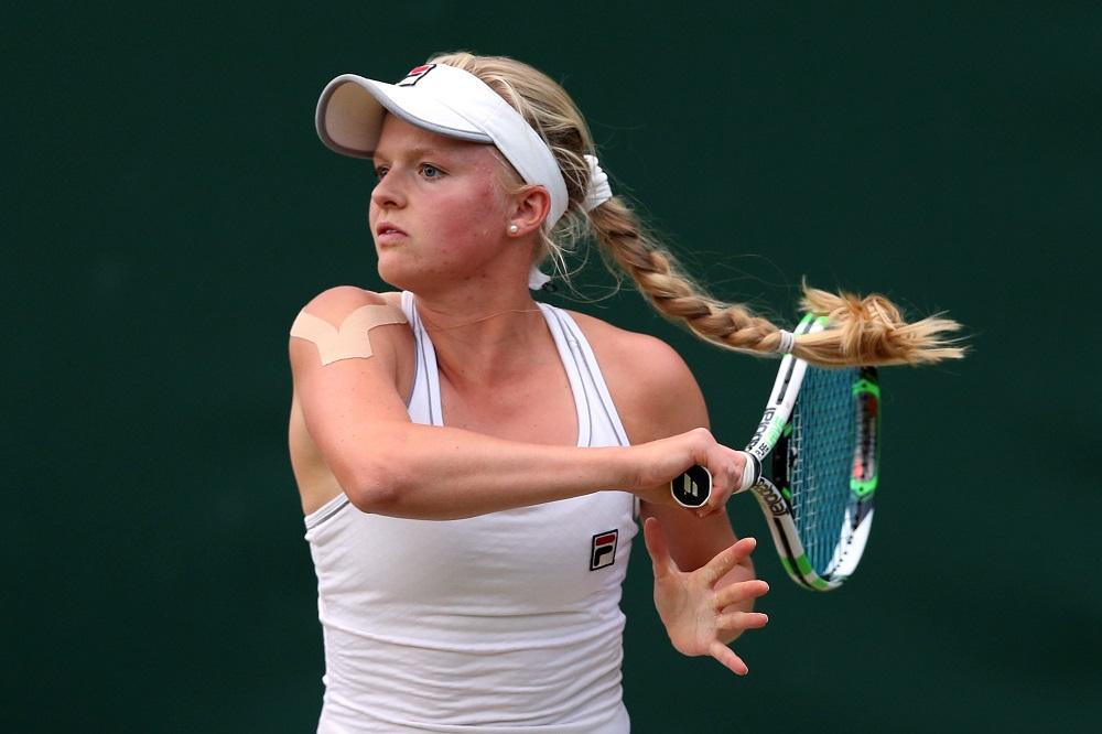 Harriet Dart Wimbledon 2014