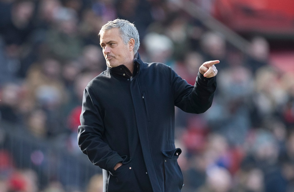 Manchester United manager Jose Mourinho during Manchester United v Chelsea, Premier League 2018