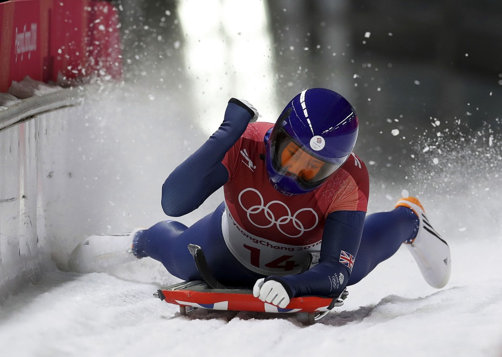 Lizzie Yarnold defends her Skeleton Gold, PyeongChang Winter Olympics 2018