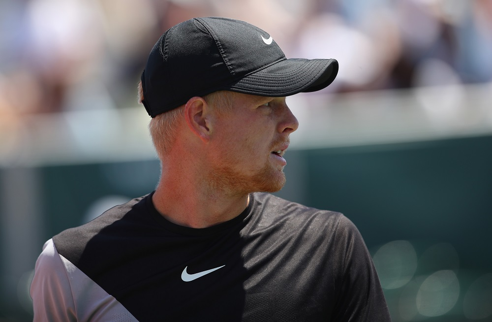 Kyle Edmund in the second round of the Miami Open, ATP Miami 2018