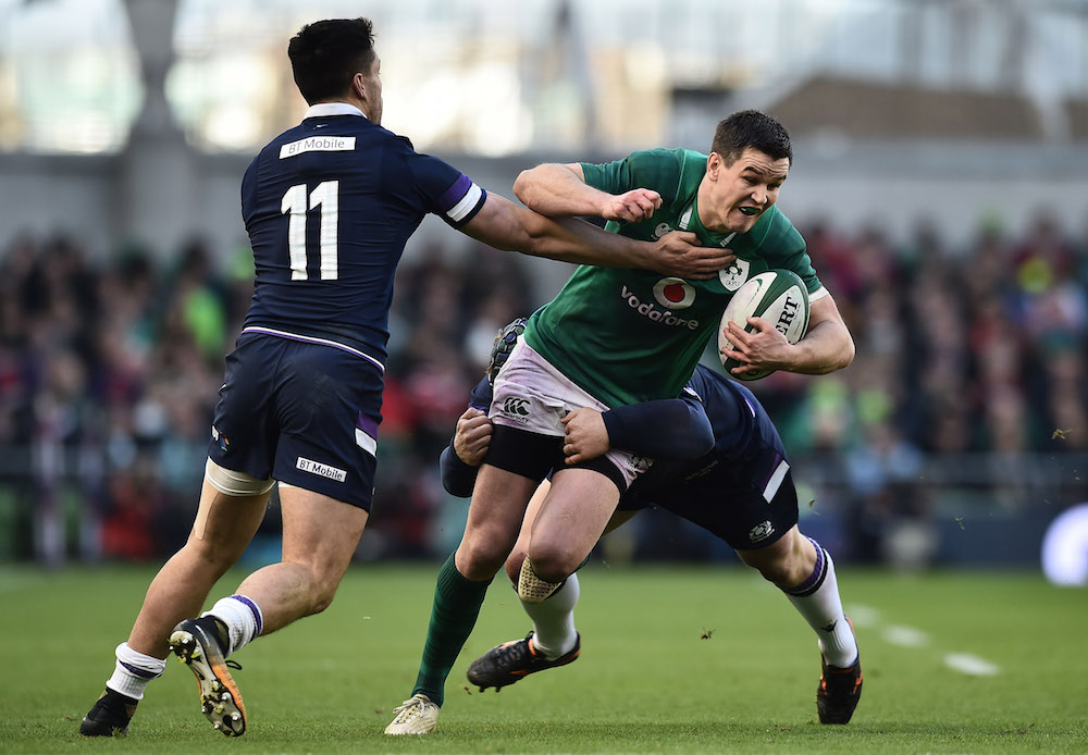 Ireland v Scotland in the NatWest Six Nations Rugby 2018