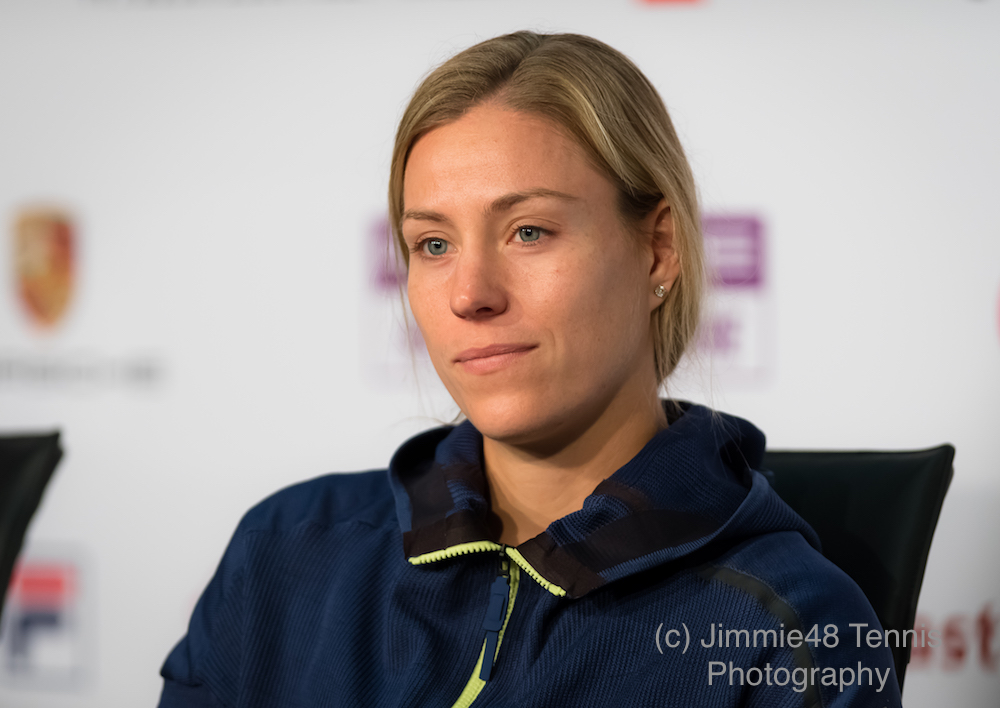 Angelique Kerber at the Porsche Tennis Grand Prix, WTA Stuttgart 2018