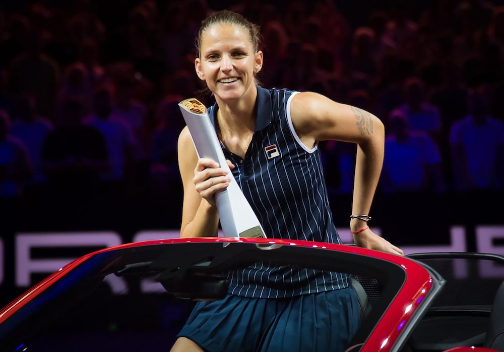 Karolina Pliskova, Porsche Tennis Grand Prix champion, WTA Stuttgart 2018