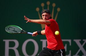 Lucas Pouiile at the Monte Carlo Rolex Masters, ATP Monte Carlo 2018