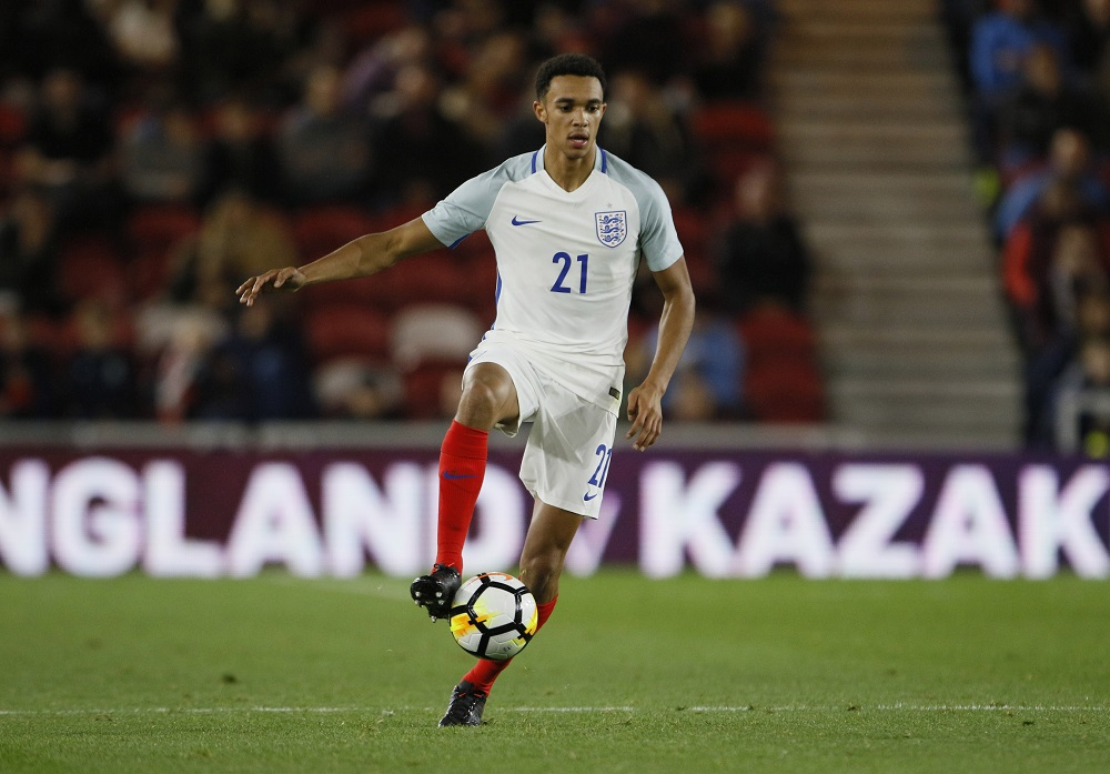 Trent Alexander-Arnold, England v Scotland U21, 2017