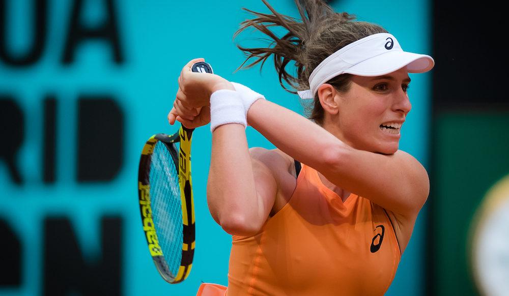 Johanna Konta at the WTA Mutua Madrid Open, 2018