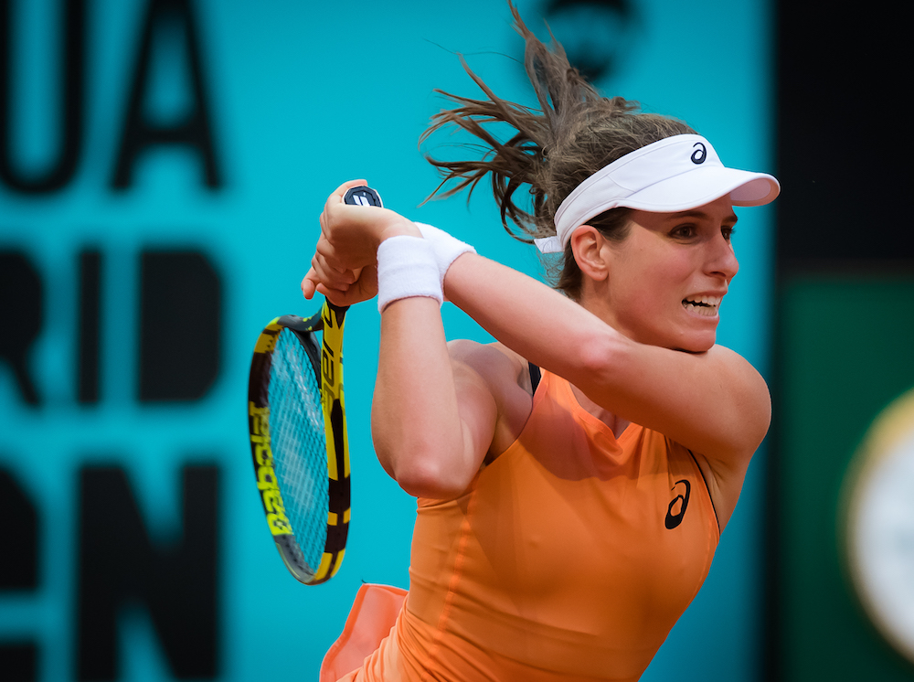 Johanna Konta at the WTA Mutua Madrid Open, 2018