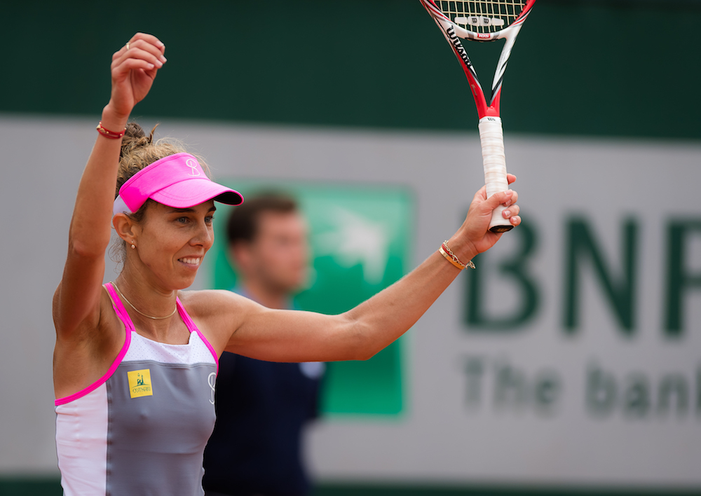 Mihaela Buzarnescu in the third round of Roland Garros, 2018