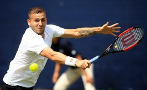 Dan Evans in the Nature Valley Open, ATP Challenger Nottingham 2018
