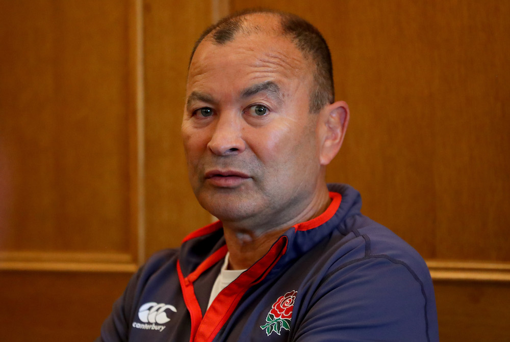 Eddie Jones, England Rugby Union coach, 2018