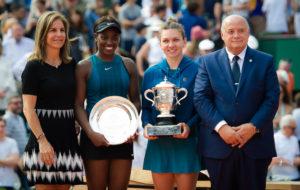 Simona Halep & Sloane Stephens, Roland Garros 2018