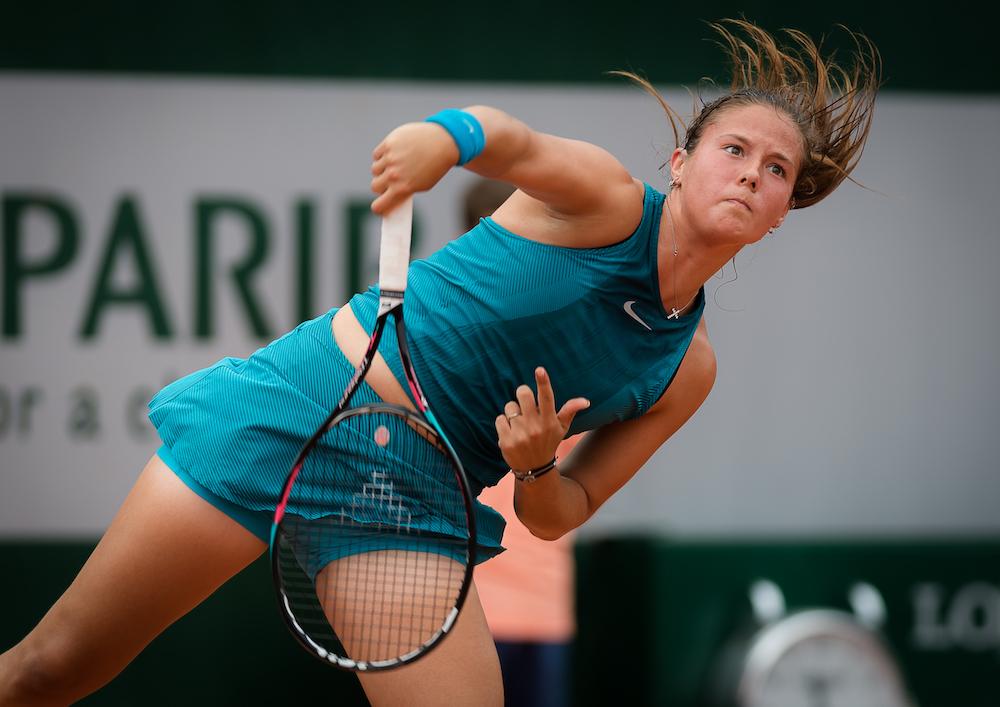 Daria kasatkina in the third round of Roland Garros, 2018