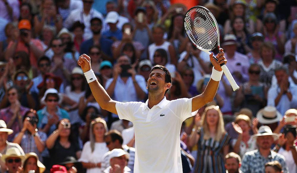 Novak Djokovic wins Wimbledon 2018