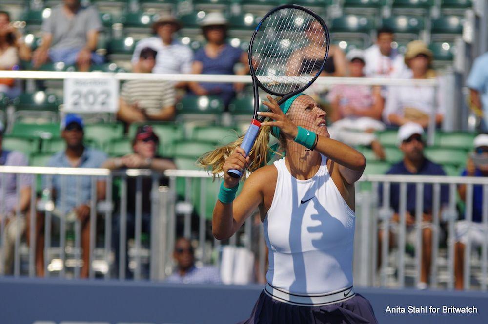 Victoria Azarenka at the Mubadala Silicon Valley Classic, WTA San Jose