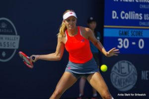 Danielle Collins in the Mubadala Silicon Valley Classic, WTA San Jose 2018