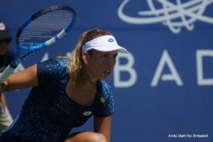 Elise Mertens in the Mubadala Silicon Valley Classic, WTA San Jose 2018