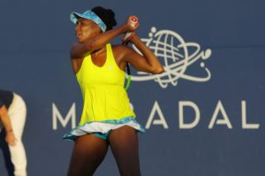 Venus Williams in the second round of the Mubadala Silicon Valley Classic, WTA San Jose 2018