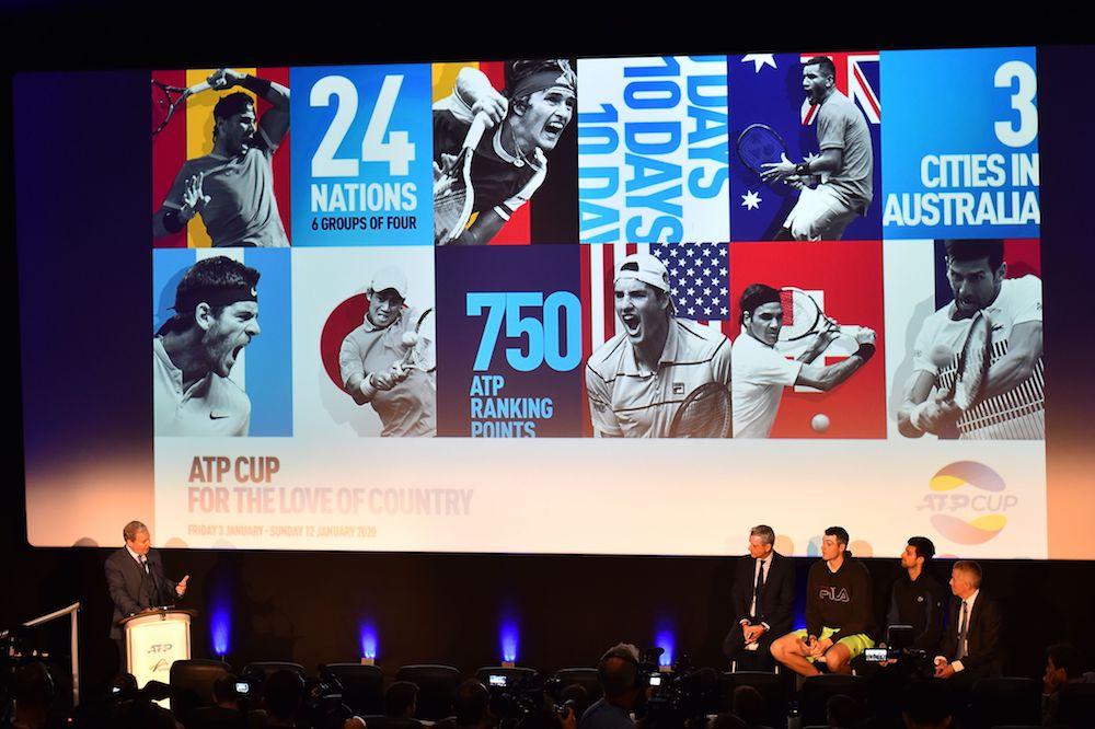 The launch of the new ATP Cup