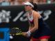 Johanna Konta inthe first round of the Australian Open 2019, Melbourne