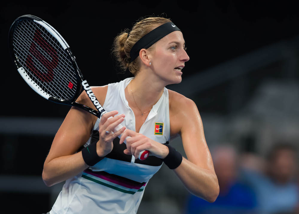 Petra Kvitova in the third round of the Australian Open 2019, Melbourne